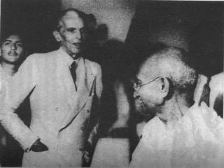 K H Khurshid, Gandhi and Jinnah
