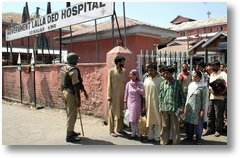 Hospitals And Humans Under Curfew