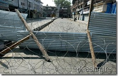 Blocked, Kashmir!